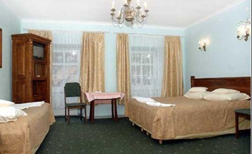 zdjęcie pokoju, Dworek Prawdzic, Niechorze