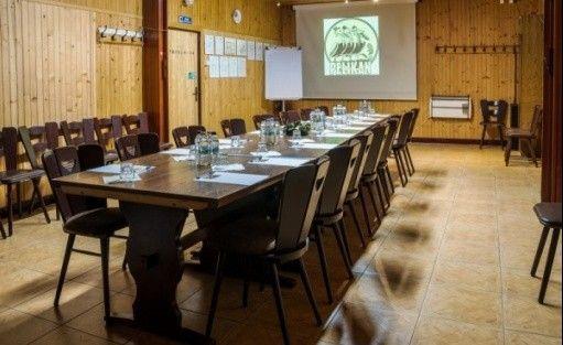 zdjęcie sali konferencyjnej, Hotel Pelikan, Łódź
