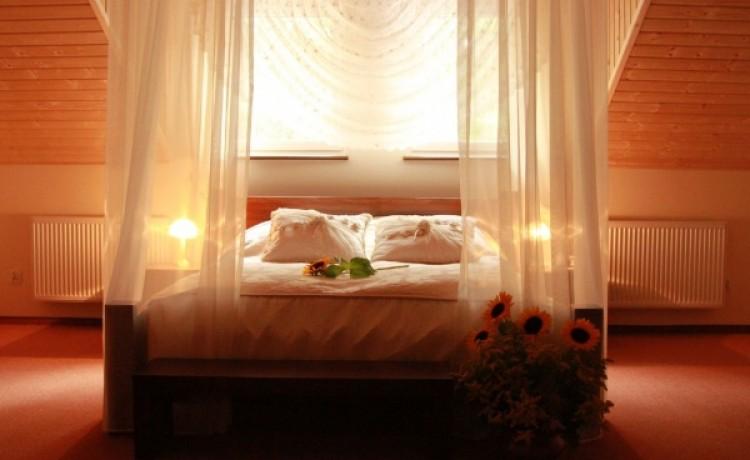zdjęcie pokoju, Ośrodek Konferencyjno Wypoczynkowy Młynczysko, Poświętne