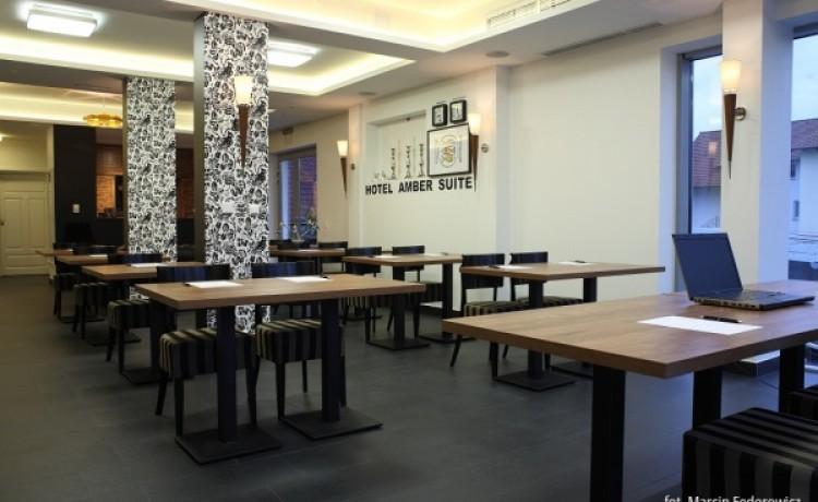 zdjęcie sali konferencyjnej, Hotel Amber Suite, Międzywodzie