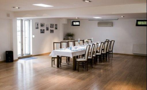zdjęcie sali konferencyjnej, Restauracja Stare i nowe, Katowice