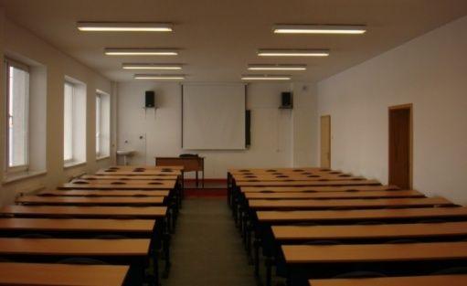 zdjęcie sali konferencyjnej, Koszalińskie Centrum Kształcenia, Koszalin