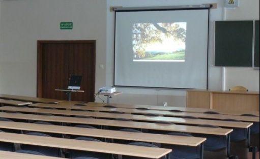 zdjęcie sali konferencyjnej, Instytut Postępowania Twórczego Sieradz, Sieradz
