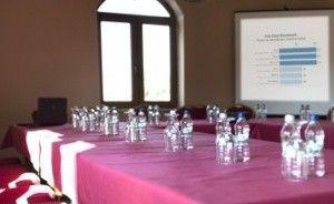 zdjęcie sali konferencyjnej, Potocki Dwór, Jędrzejów