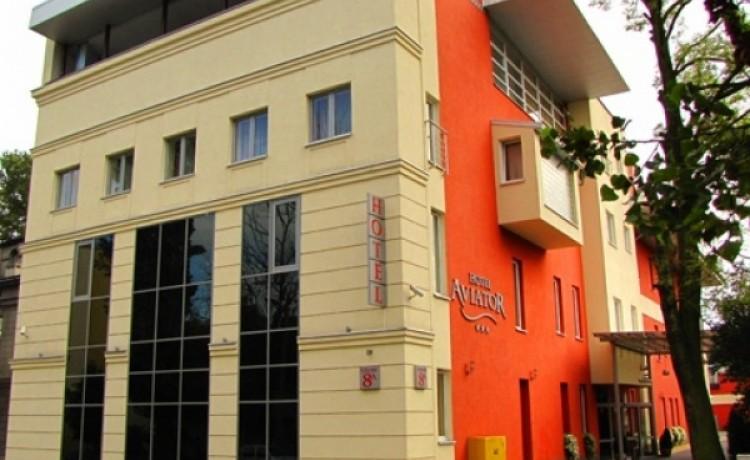 zdjęcie obiektu, Hotel Aviator***, Łódź