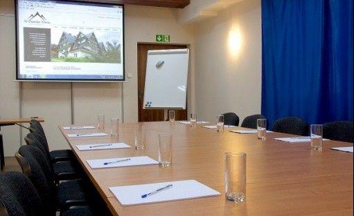 zdjęcie sali konferencyjnej, Willa Na Olczańskim Wierchu, Bukowina Tatrzańska