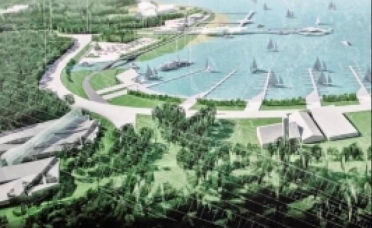 Kompleks rekreacyjny nad jeziorem Krzywym