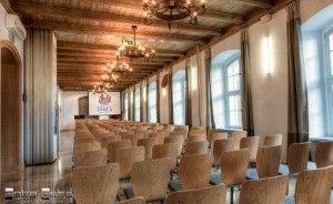 zdjęcie sali konferencyjnej, Centrum Konferencyjne ZAMEK, Szczecinek