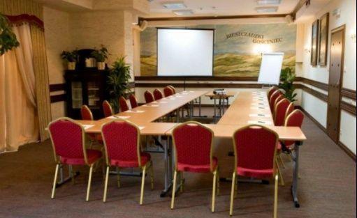 zdjęcie sali konferencyjnej, CARPATIA Bieszczadzki Gościniec, Cisna