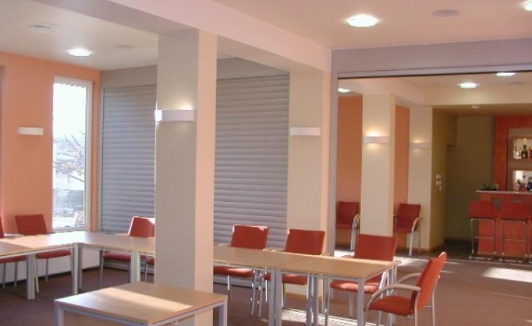 zdjęcie sali konferencyjnej, Ośrodek Szkoleniowo - Wypoczynkowy  Suchy Bór, Suchy Bór