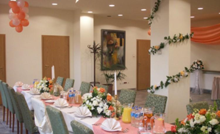 zdjęcie sali konferencyjnej, Hotel Erazm przy pałacu Villa Decius, Kraków
