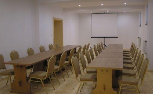 zdjęcie sali konferencyjnej, Ośrodek Wczasowy Rytebłota, Zbiczno