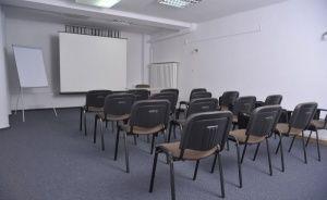 zdjęcie sali konferencyjnej, Centrum Rozwoju Nowoczesnych Form Biznesu, Warszawa