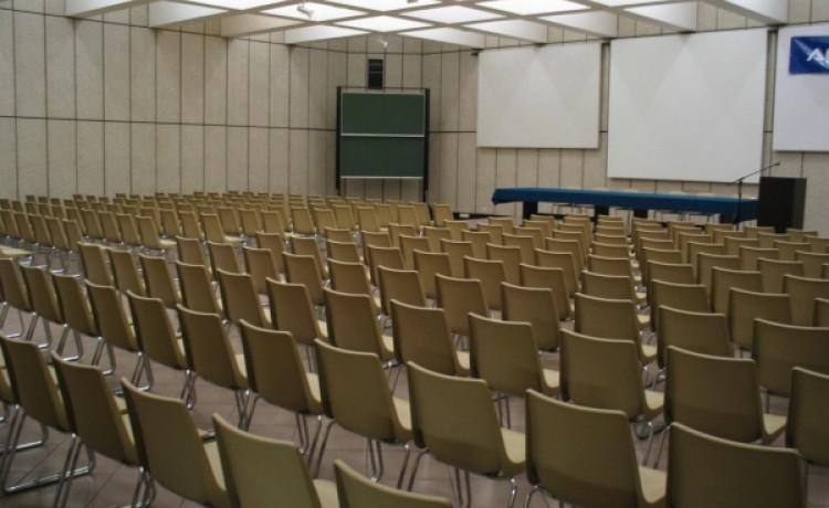 zdjęcie sali konferencyjnej, Wytwórnia SmaQ, Poznań