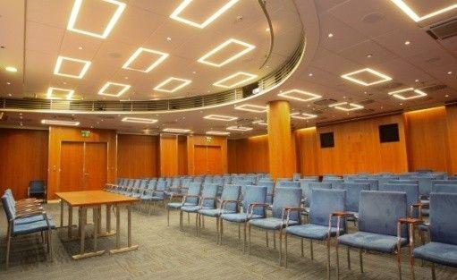 zdjęcie sali konferencyjnej, Centrum Medialne Agencji TVN, Warszawa