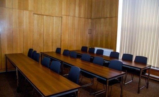 zdjęcie sali konferencyjnej, Instytut Ekonomiki Rolnictwa i Gospodarki Żywnościowej - PIB, Warszawa