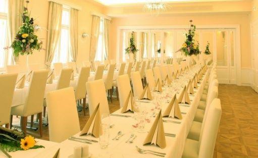 zdjęcie sali konferencyjnej, Zameczek Petrovice, Piotrowice koło Karwiny