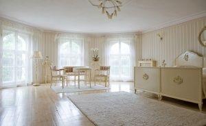 zdjęcie pokoju, Pałac Brzeźno, Brzeźno