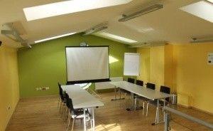 zdjęcie sali konferencyjnej, Centrum Edukacyjno-Wdrożeniowe w Chojnicach, Chojnice