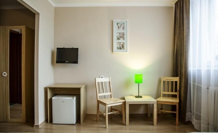 zdjęcie pokoju, Hotel Boss, Łódź