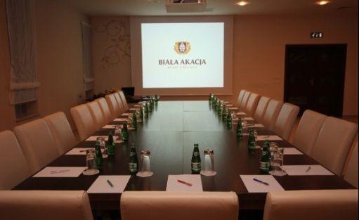 zdjęcie sali konferencyjnej, Biała Akacja Resort & Business, Prudnik