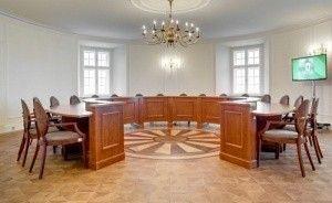zdjęcie sali konferencyjnej, Zamek Książ, Wałbrzych