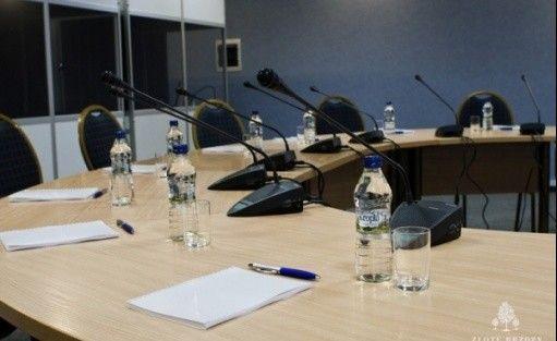 zdjęcie sali konferencyjnej, Centrum Konferencyjno-Szkoleniowe Złote Brzozy, Warszawa