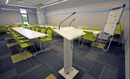 zdjęcie sali konferencyjnej, Software Camp, Lublin