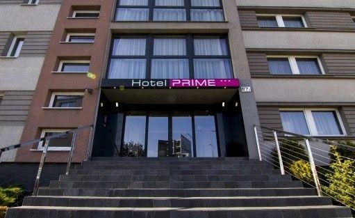 Hotel Bytom*** Prime - wejście główne