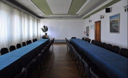 zdjęcie sali konferencyjnej, Kompleks biurowo-konferencyjny ul. Warszawska 5 Bielsko-Biała, Bielsko-Biała