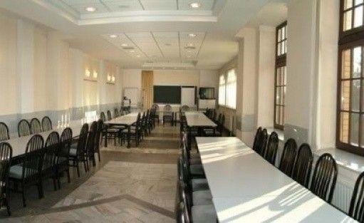 zdjęcie sali konferencyjnej, Ośrodek Wypoczynkowo-Szkoleniowy Arkun, Łeba