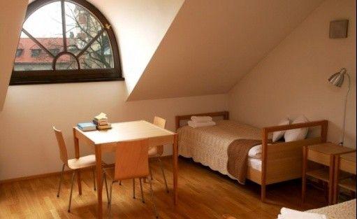zdjęcie pokoju, Dom Gości Opactwa Benedyktynów w Tyńcu, Kraków