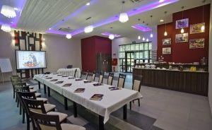 zdjęcie sali konferencyjnej, Cykada Restauracja & Hotel, Brzozie