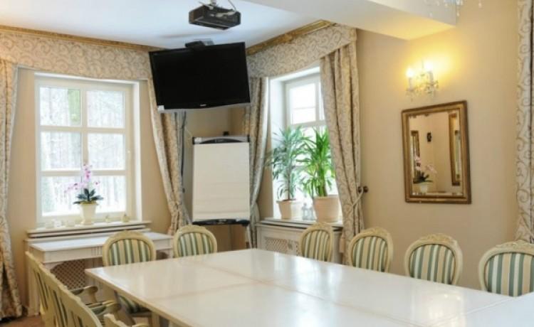 zdjęcie sali konferencyjnej, Dwór Carski w Spale, Spała