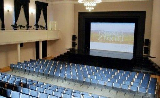 zdjęcie sali konferencyjnej, Teatr Zdrojowy im. M. Ćwiklińskiej, Polanica-Zdrój