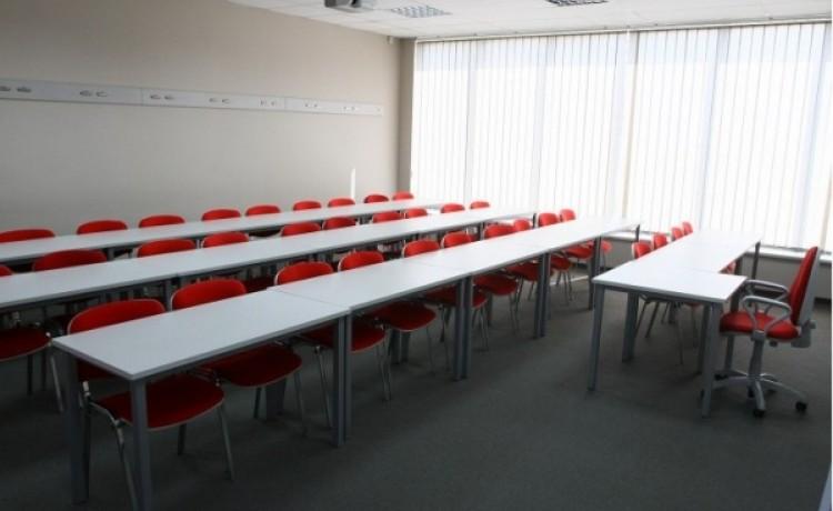 zdjęcie sali konferencyjnej, Ośrodek szkoleń i doradztwa gospodarczego Mediator, Świdnica