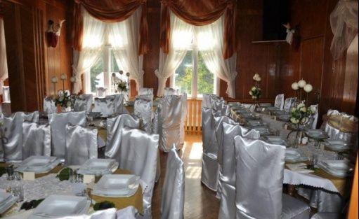 zdjęcie sali konferencyjnej, Ośrodek Wypoczynkowy Sabat - Dworek Myśliwski Księżnej Orańskiej, Międzygórze