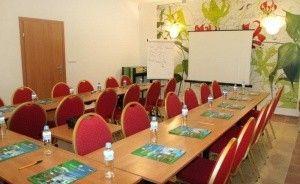 zdjęcie sali konferencyjnej, Kompleks Puchaczówka, Stronie Śląskie