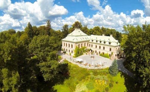 zdjęcie obiektu, Pałac Odrowążów*****, Chlewiska koło Szydłowca