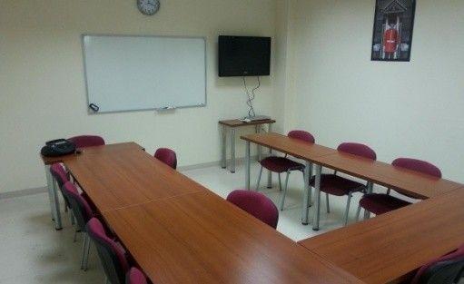 zdjęcie sali konferencyjnej, Profi-lingua sale szkoleniowe, najlepsze ceny w Katowicach, Katowice