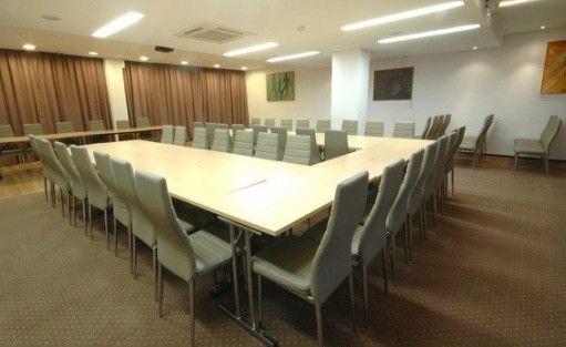 zdjęcie sali konferencyjnej, Ośrodek Szkoleniowo Wypoczynkowy Skalny, Polańczyk