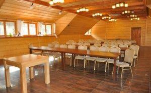 zdjęcie sali konferencyjnej, Daglezjowy Dwór, Sąsieczno