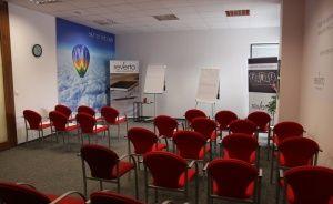 "zdjęcie sali konferencyjnej, Marcelin Office Center ""Reverto"", Poznań"