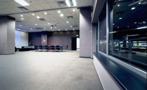 zdjęcie sali konferencyjnej, Legia Racing Club , Warszawa