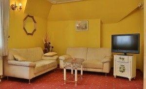 zdjęcie pokoju, Dwór Szczepańskich, Woszczyce