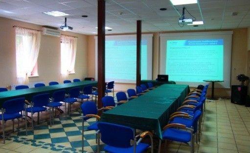 zdjęcie sali konferencyjnej, Ośrodek Konferencyjno-Wypoczynkowy Krucze Skały, Karpacz