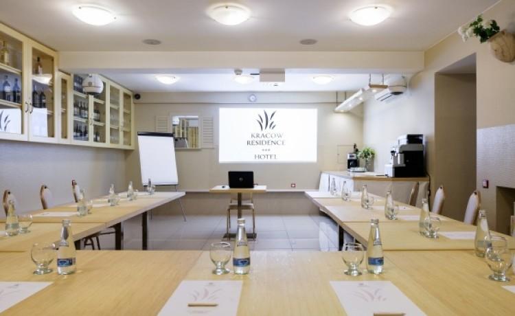 zdjęcie sali konferencyjnej, Kracow Residence, Kraków