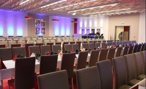 zdjęcie sali konferencyjnej, Sunny Club Music, Legnica