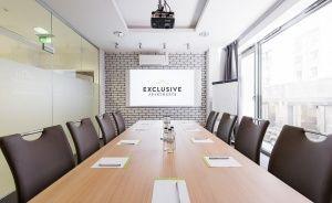 zdjęcie sali konferencyjnej, Exclusive Apartments Wrocław, Wrocław