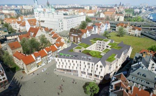 Obiekt w budowie ibis Styles Szczecin Stare Miasto / 0